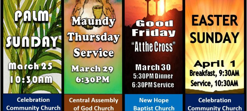 Holy Week at Celebration